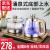 レビン全自動的に水道と電気ケトのお茶台のポケットガラスの底に水台を入れます。電気ポライトのお茶具です。お茶を沸かします。